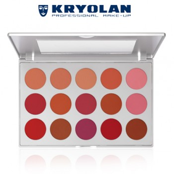 BLUSHER SET - PROFESSIONAL -  15 COLORS