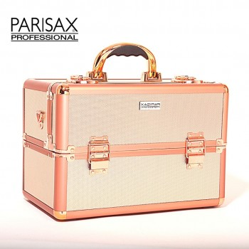 PARISAX KUFR NA MAKE-UP ROSEGOLD