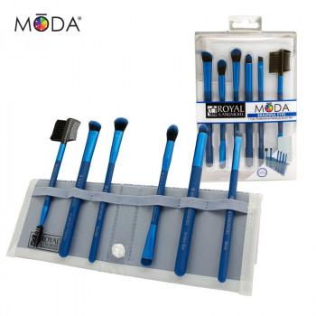 Beautiful Eyes 7pc Blue Brush Kit