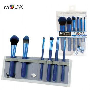 Total Face 7pc Blue Brush Kit