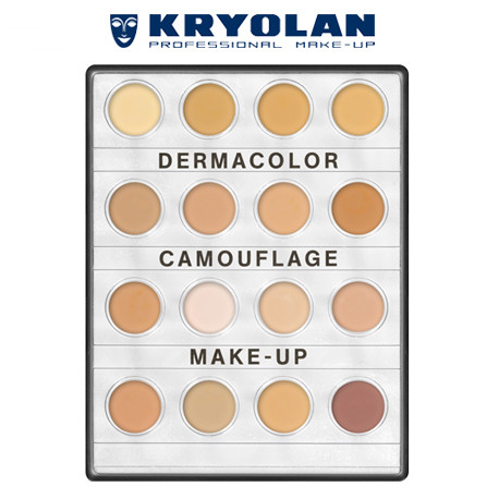 DERMACOLOR CAMOUFLAGE CREME MINI-PALETTE 16 COLORS – FAIR