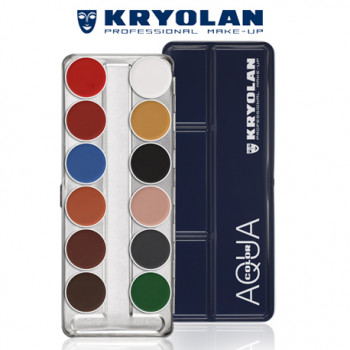 AQUACOLOR PALETTE 12 COLORS – B