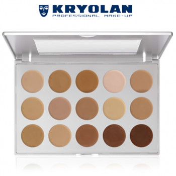 HD MICRO FOUNDATION CREAM PALETTE 15 COLORS