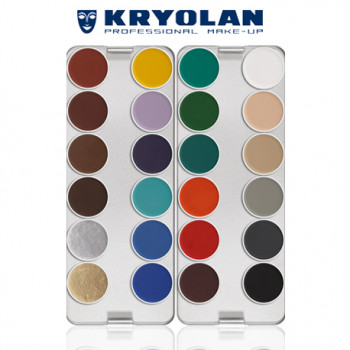 AQUACOLOR PALETTE 24 COLORS K