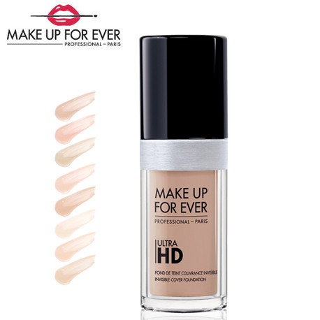 FOUNDATION ULTRA HD  Tekutý make-up Ultra HD 30 ml
